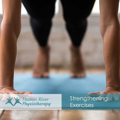 Is strengthening exercises effective than stretching exercise in rehabilitation?